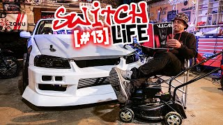 Street Drift, playseat à gagner et SR20 fiable ! SWITCH LIFE #13