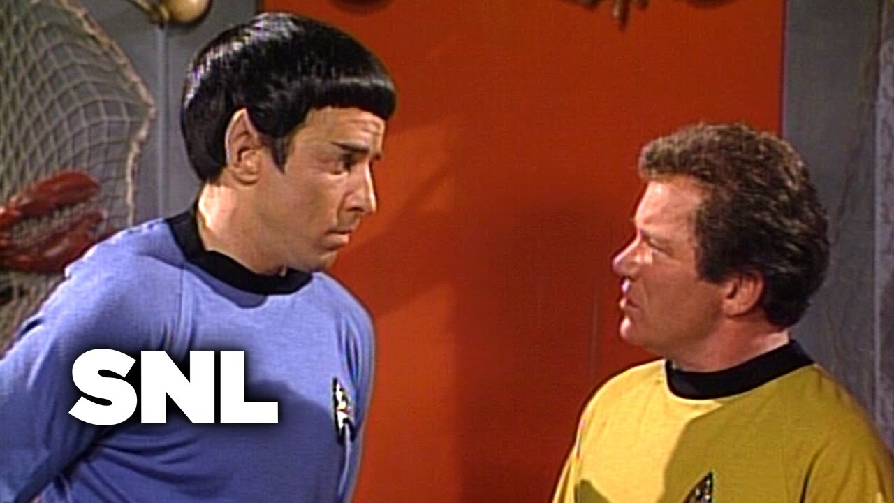 Star Trek V: The Restaurant Enterprise - Saturday Night Live