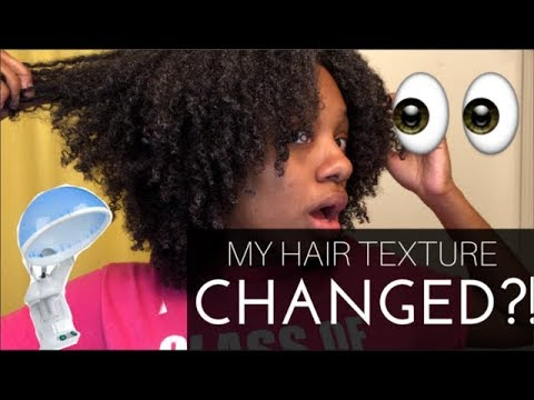 THIS JUST SAVED MY HAIR! | Hair Steamer First Impression