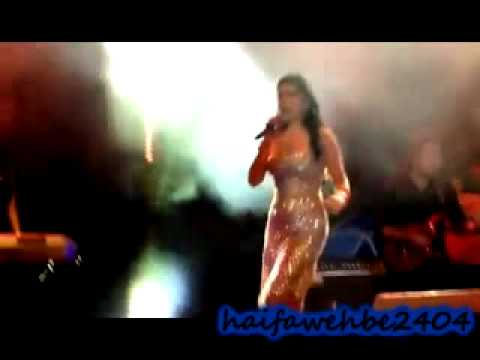 Haifa in Morocco's concert singing enta tani