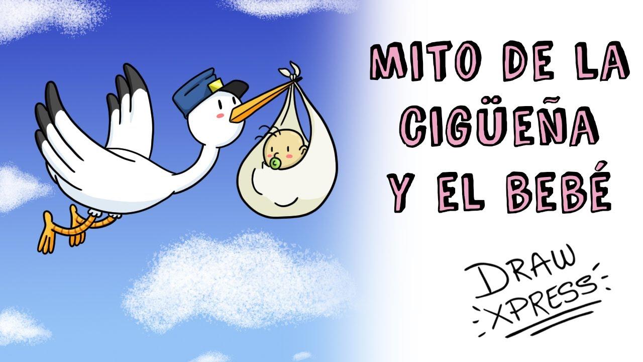 EL MITO DE LA CIGÜEÑA Y EL BEBÉ | Draw My Life