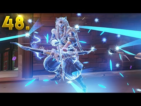 400+ Hours of HANZO..!! | OVERWATCH Daily Moments Ep. 48