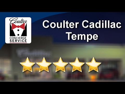Coulter Cadillac Tempe Incredible Star Review By Wendy M YouTube - Coulter cadillac service