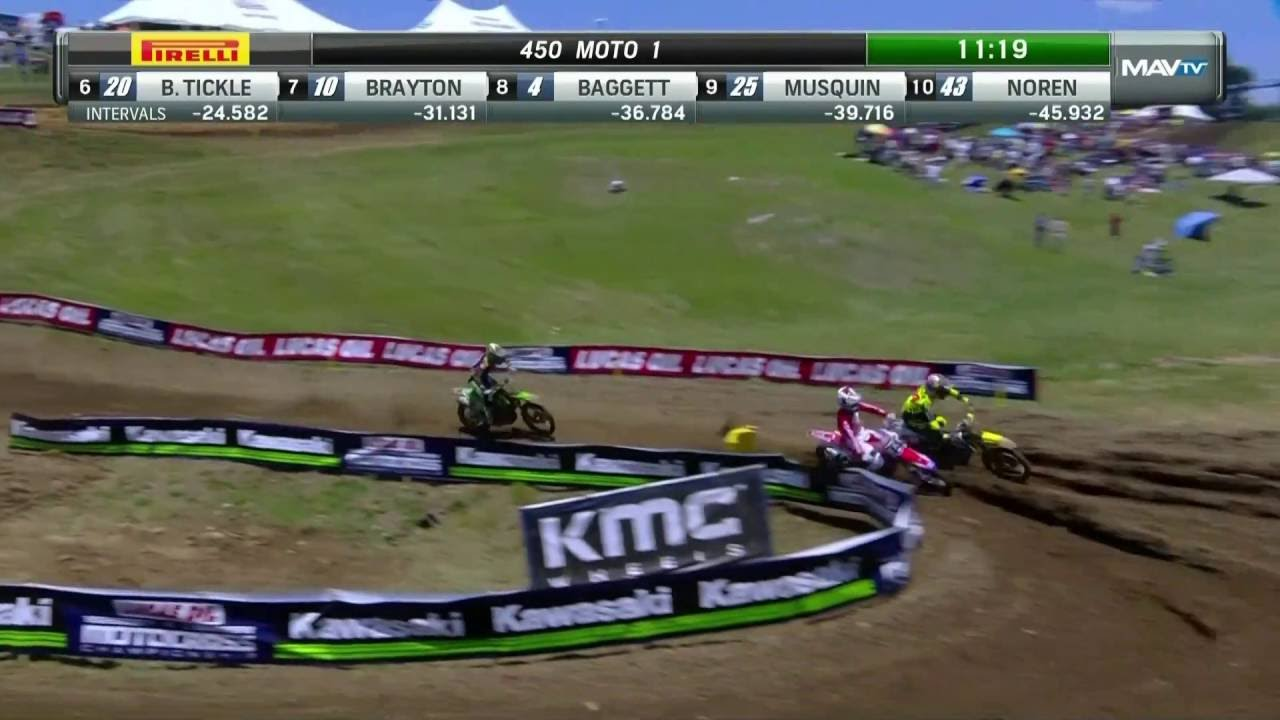Tennessee 450 Moto 1: Seely, Roczen & Tomac's epic battle for lead