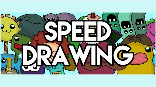 Speed Drawing - Channel Art