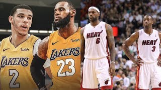 Lebron & Lonzo are BETTER than Lebron & Dwade… HERE'S WHY!