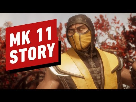 Mortal Kombat 11 Full Movie (All Cutscenes in 4K)