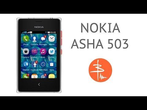 Nokia Asha 503 или Эволюция малышки. Видеообзор