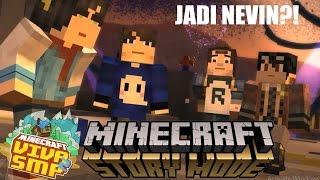 Jadi NevinGaming Di Minecraft Story Mode ft. Viva SMP Member