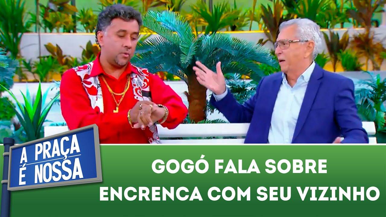 Gogó fala sobre encrenca com seu vizinho | A Praça É Nossa (08/11/18)
