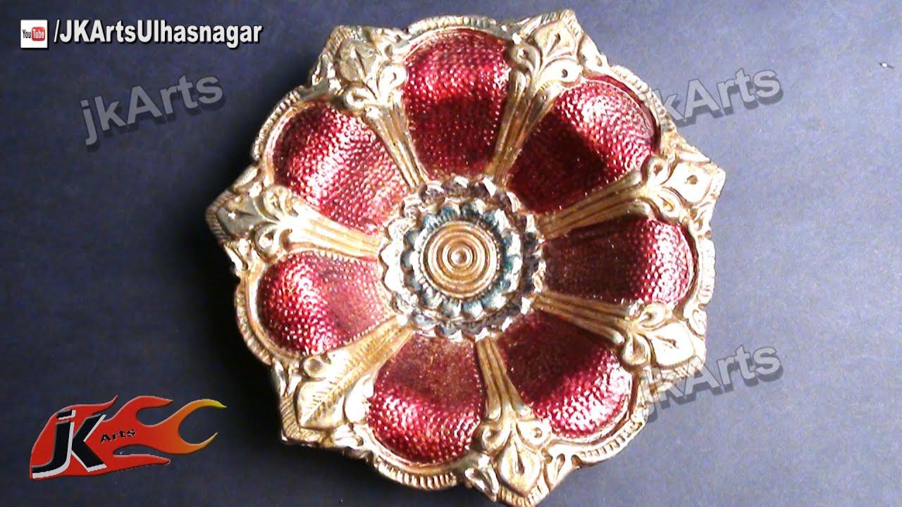 Diy how to decorate diwali diya diwali home decoration for Diwali decoration material