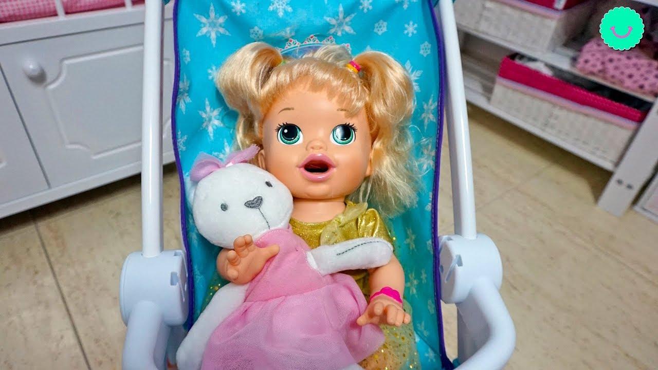 La muñeca Baby Alive SARA en su rutina de mañana