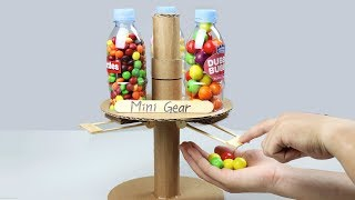 How to Make Candy Dispenser with 3 Different Taste at Home