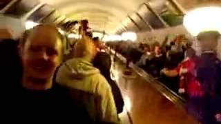 Viva Ronaldo on Moscow Metro.mp4