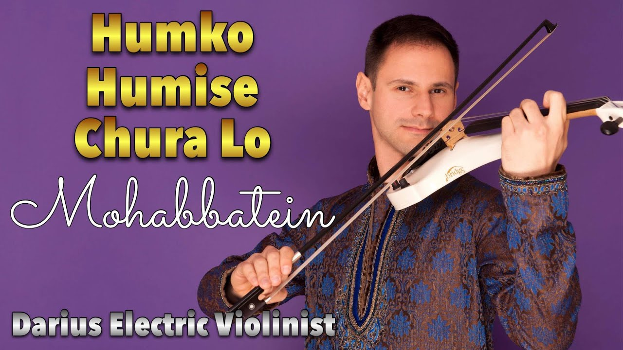 Bollywood violin| Electric Violinist Darius UK| Bollywood