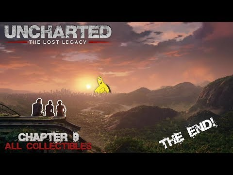Uncharted The Lost Legacy: Chap 9/End of the Line (All Collectibles) - HTG