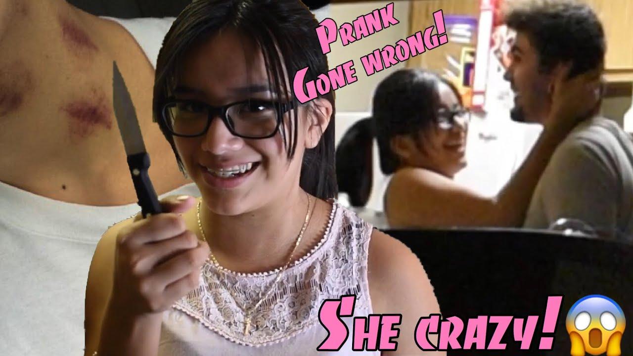 Hickey Prank On Crazy Latina Girlfriend