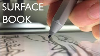 How To Use a Surface Book as a Drawing Tablet