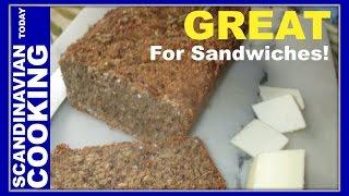 Danish Wholegrain Rye Bread - Fuldkornsrugbrød