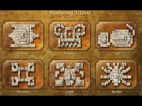 Playthrough | Mahjong Titans | Turtle | [No Commentary] - YT