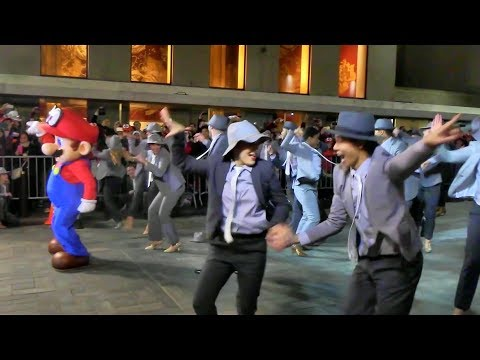 SUPER MARIO ODYSSEY Jump Up, Super Star! DANCE PERFORMANCE [Nintendo NY Store]