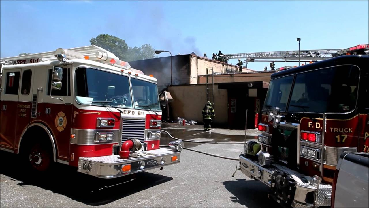2nd Alarm Commercial Fire At Upland Furniture