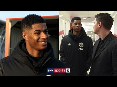 Marcus Rashford returns to Manchester United Youth Academy! 🔴