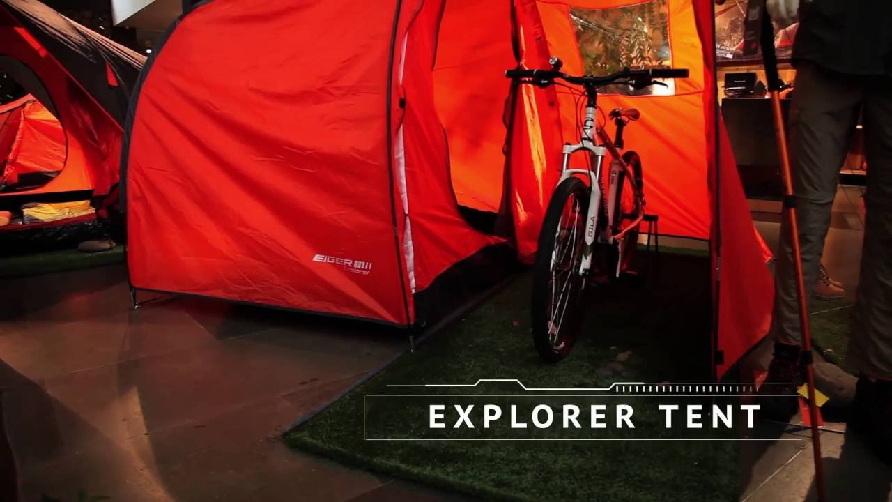 & Product Info - EIGER Explorer Tent - YouTube