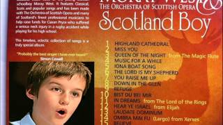 Moray West, boy soprano, sings You Raise Me Up