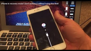 iPhone in recovery mode? Don't restore it without trying this first!