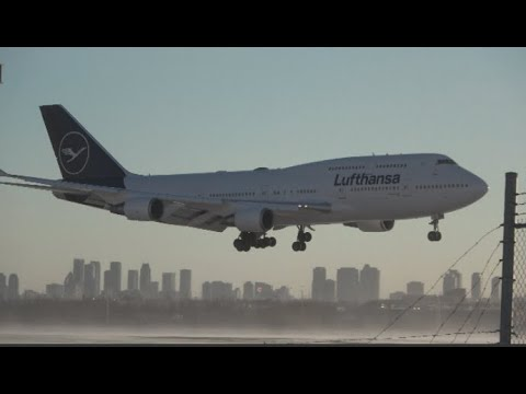 Plane Spotting at Toronto Pearson Airport in Frigid Weather!: Aer Lingus New Livery, Lufthansa, etc.