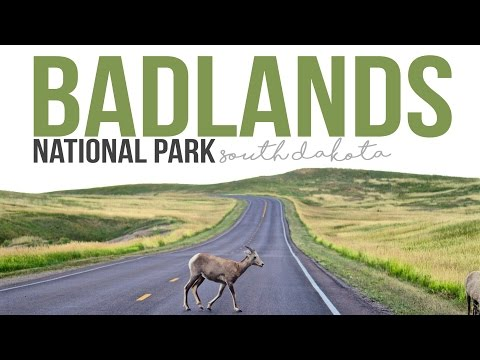 Exploring Badlands National Park - a Drivin' & Vibin' Travel Vlog