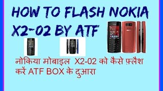 HOW TO FLASH NOKIA X2-02 MOBILE BY ATF