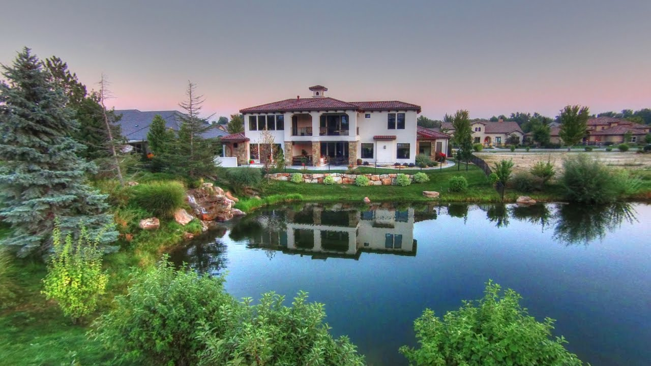 Eagle Idaho Luxury Waterfront Home in The Shores Community