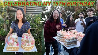 CELEBRATING MY 15TH BIRTHDAY! Vlogmas Day 5 | Nicole Laeno