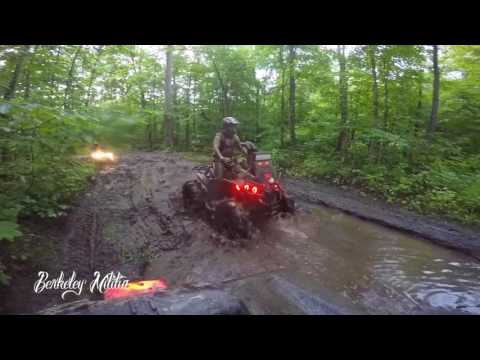 BERKELEY MILITIA ATV - Civic Holiday Ride (Music Video)