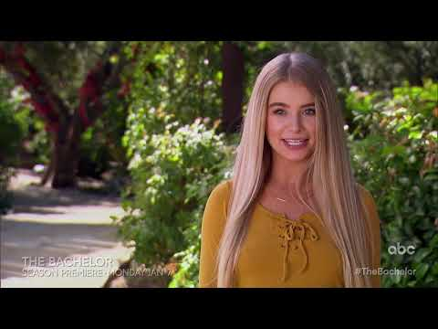 Casey Carter - ABC released a preview of Colton's Bachelor season