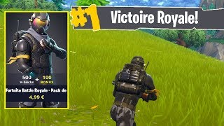 NEW SKIN AGENT REBELLE on FORTNITE BATTLE ROYALE!