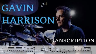 "Gavin Harrison - Drum Breakdown Transcription - ""No Man's Land"""