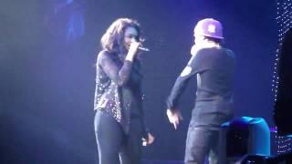 Justin Bieber & Jessica Jarrell - Overboard (Moline July 2nd)