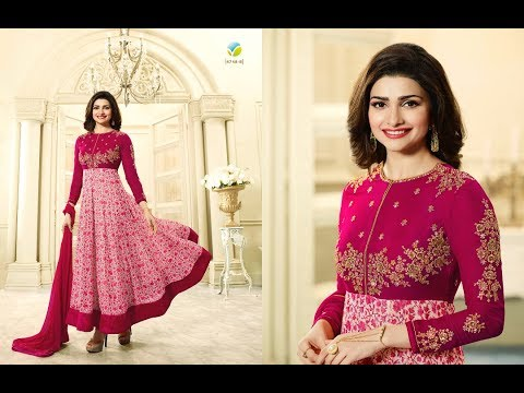 Buy Online Dress - Modern New Arrivals Fashionable Women Floor Length Anarkali Suits