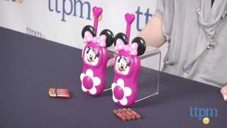 Minnie Mouse Bow-tique Bow-tastic Walkie Talkies from eKids