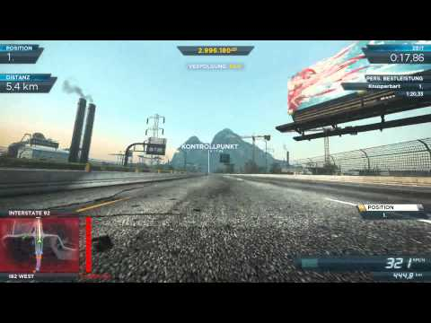 Need for Speed Most Wanted 2012 Koenigsegg  Agera R Gameplay
