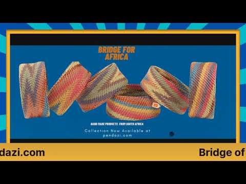 Introduction of Bridge for Africa as the newest brand to be featured on pendazi.com