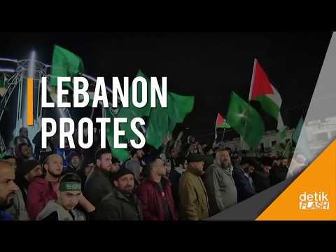Lebanon Nilai Amerika Merusak Upaya Perdamaian Israel-Palestina!