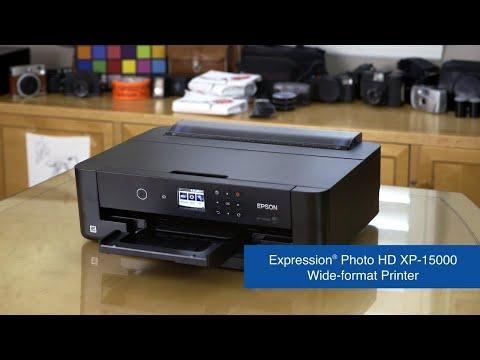 Epson Expression Photo HD XP-15000 Printer   Take the Tour