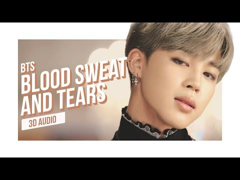 BTS - Blood Sweat & Tears 3D AUDIO | Download In Description