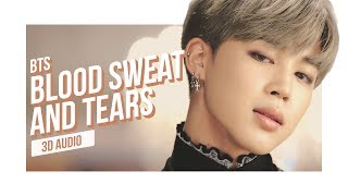 Gambar cover BTS - Blood Sweat & Tears 3D AUDIO | Download in Description