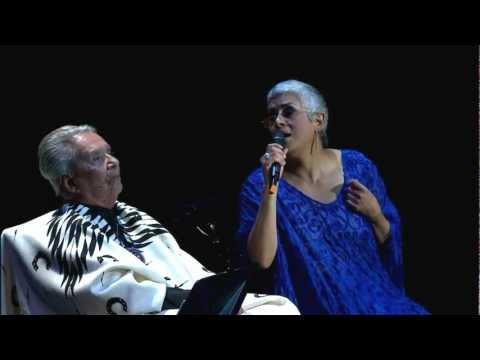 Chavela Vargas en Bellas Artes: La llorona con Raúl Rodríguez y Eugenia León