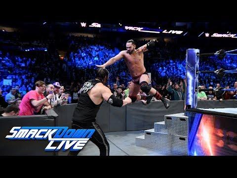 Tye Dillinger vs. Baron Corbin: SmackDown LIVE, Jan. 30, 2018